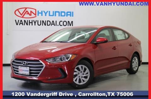 2017 Hyundai Elantra for sale in Carrollton, TX