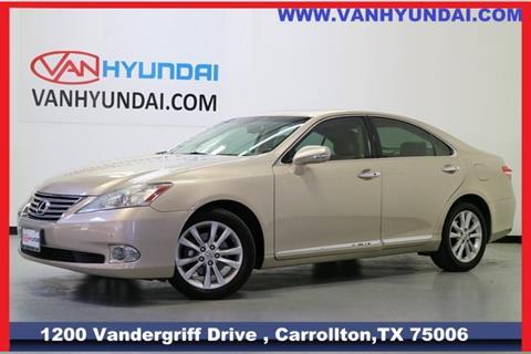 2011 Lexus ES 350 for sale in Carrollton, TX