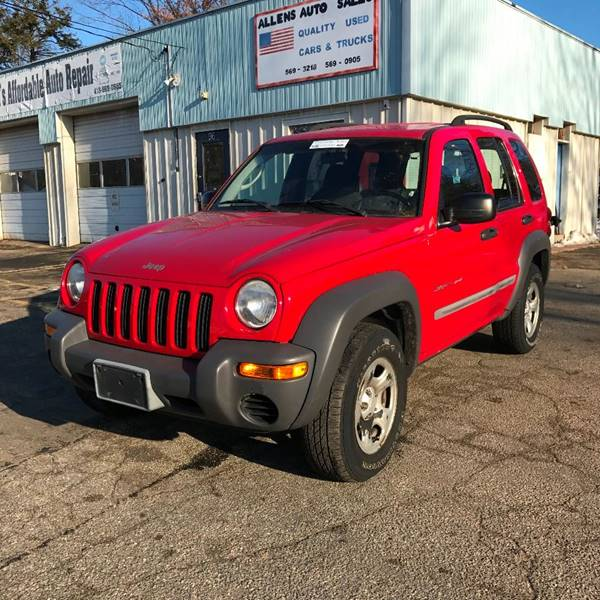 2002 Jeep Liberty for sale at Allen's Affordable Auto in Southwick MA
