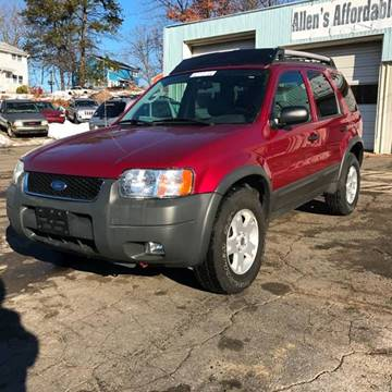 2004 Ford Escape for sale in Southwick, MA