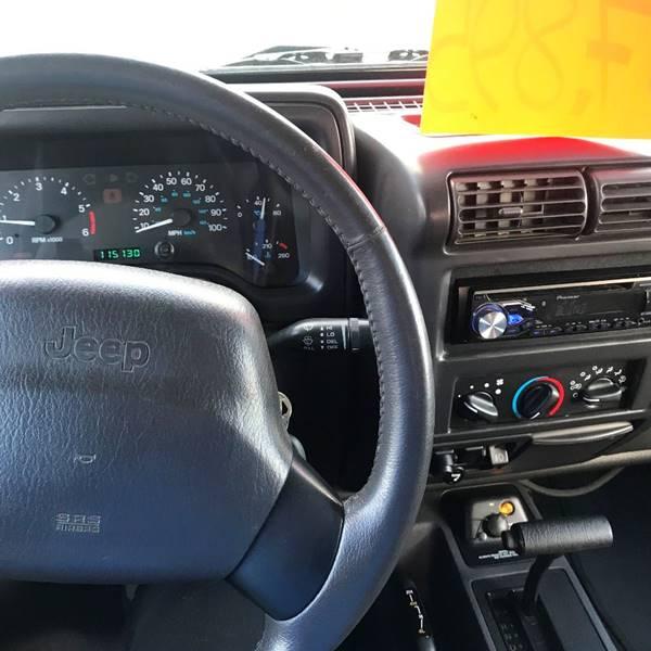 2000 Jeep Wrangler 2dr Sport 4WD SUV - Southwick MA