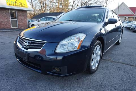 2008 Nissan Maxima for sale at Ecocars Inc. in Nashville TN