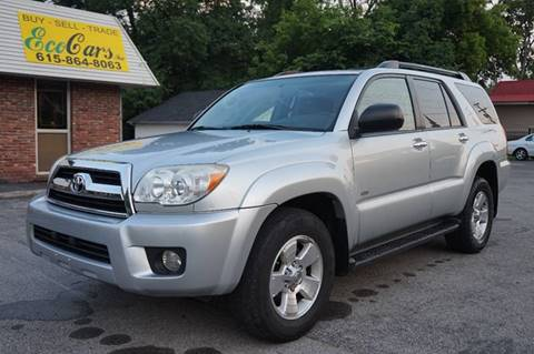 2007 Toyota 4Runner for sale at Ecocars Inc. in Nashville TN