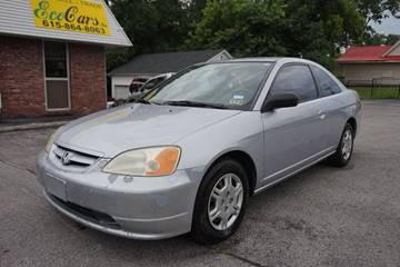 2002 Honda Civic for sale at Ecocars Inc. in Nashville TN