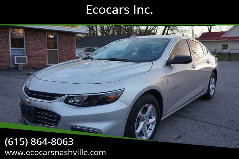 2017 Chevrolet Malibu for sale at Ecocars Inc. in Nashville TN