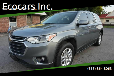 2018 Chevrolet Traverse for sale at Ecocars Inc. in Nashville TN