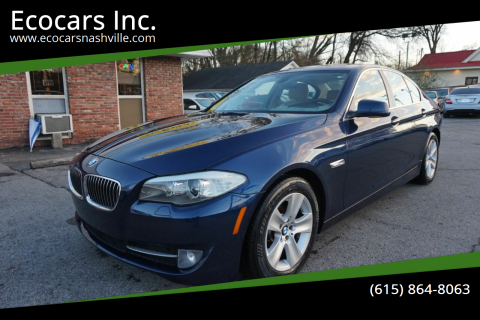 2013 BMW 5 Series for sale at Ecocars Inc. in Nashville TN