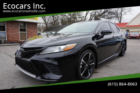 2019 Toyota Camry for sale at Ecocars Inc. in Nashville TN