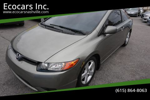 2007 Honda Civic for sale at Ecocars Inc. in Nashville TN