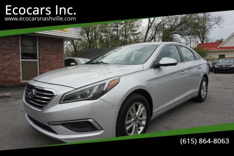 2017 Hyundai Sonata for sale at Ecocars Inc. in Nashville TN