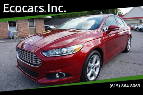 2016 Ford Fusion for sale at Ecocars Inc. in Nashville TN