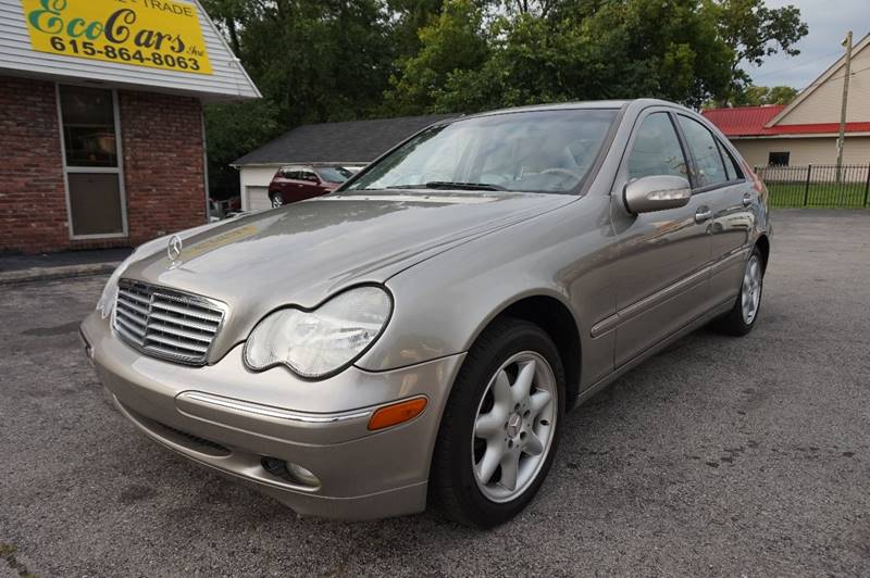 2004 Mercedes Benz C Class For Sale At Ecocars Inc. In Nashville TN
