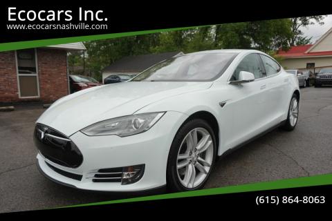 2015 Tesla Model S for sale at Ecocars Inc. in Nashville TN