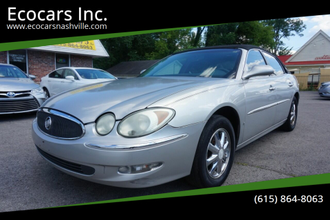 2006 Buick LaCrosse for sale at Ecocars Inc. in Nashville TN