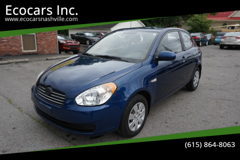2011 Hyundai Accent for sale at Ecocars Inc. in Nashville TN