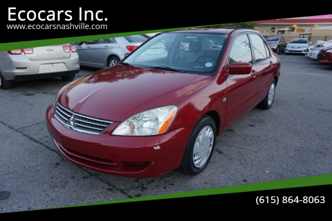 2007 Mitsubishi Lancer for sale at Ecocars Inc. in Nashville TN
