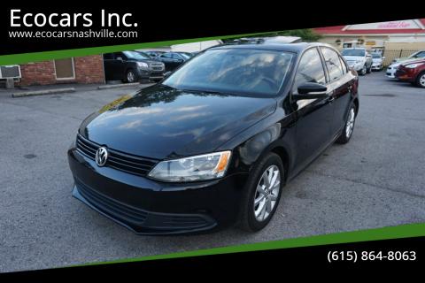2012 Volkswagen Jetta for sale at Ecocars Inc. in Nashville TN