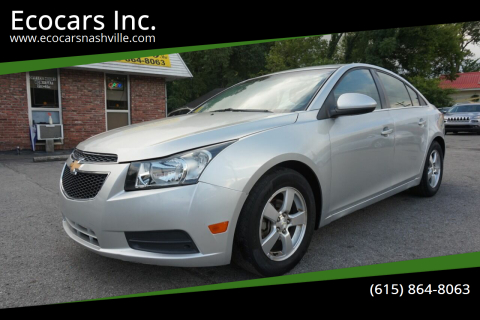 2013 Chevrolet Cruze for sale at Ecocars Inc. in Nashville TN