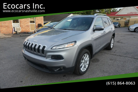 2018 Jeep Cherokee for sale at Ecocars Inc. in Nashville TN