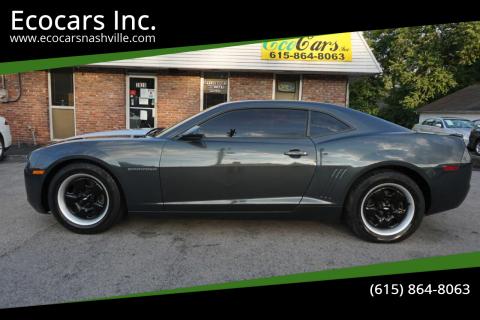2013 Chevrolet Camaro for sale at Ecocars Inc. in Nashville TN