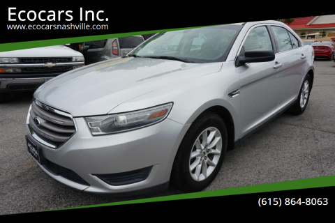 2013 Ford Taurus for sale at Ecocars Inc. in Nashville TN