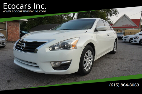2014 Nissan Altima for sale at Ecocars Inc. in Nashville TN