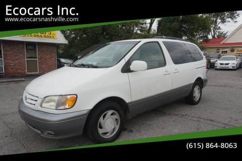 2001 Toyota Sienna for sale at Ecocars Inc. in Nashville TN