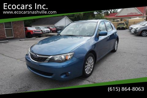 2009 Subaru Impreza for sale at Ecocars Inc. in Nashville TN