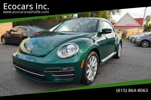 2017 Volkswagen Beetle for sale at Ecocars Inc. in Nashville TN