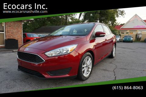 2017 Ford Focus for sale at Ecocars Inc. in Nashville TN