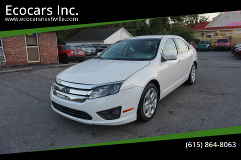 2010 Ford Fusion for sale at Ecocars Inc. in Nashville TN