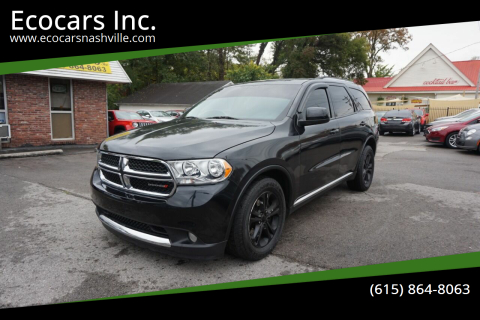 2011 Dodge Durango for sale at Ecocars Inc. in Nashville TN