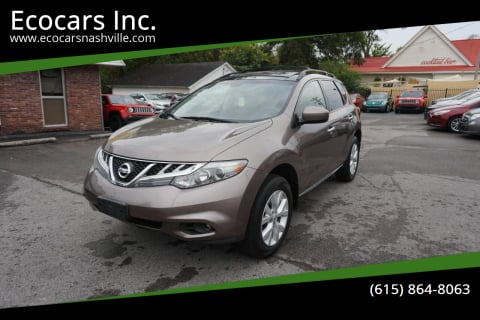 2012 Nissan Murano for sale at Ecocars Inc. in Nashville TN