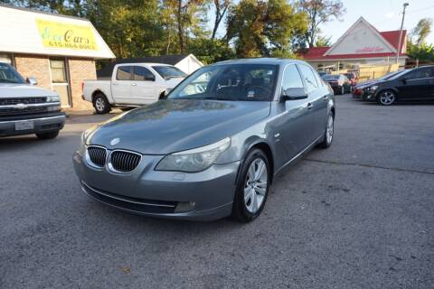 2009 BMW 5 Series for sale at Ecocars Inc. in Nashville TN
