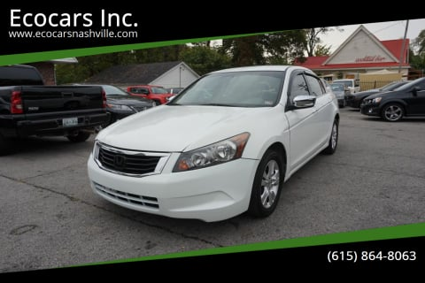 2009 Honda Accord for sale at Ecocars Inc. in Nashville TN