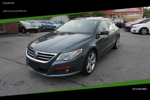 2012 Volkswagen CC for sale at Ecocars Inc. in Nashville TN
