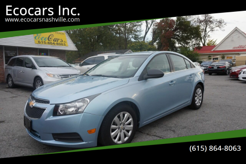 2011 Chevrolet Cruze for sale at Ecocars Inc. in Nashville TN