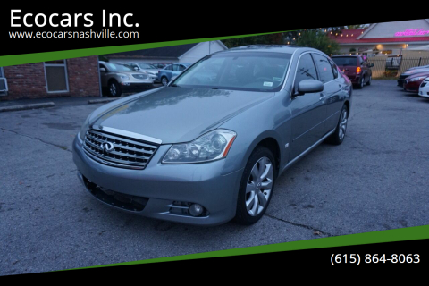 2006 Infiniti M35 for sale at Ecocars Inc. in Nashville TN
