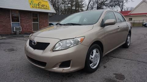 2010 Toyota Corolla for sale in Nashville, TN