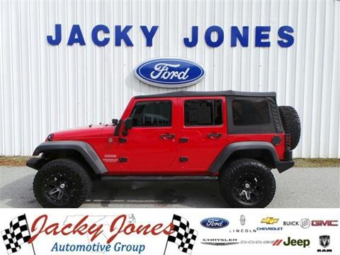 2011 Jeep Wrangler Unlimited for sale in Cleveland GA