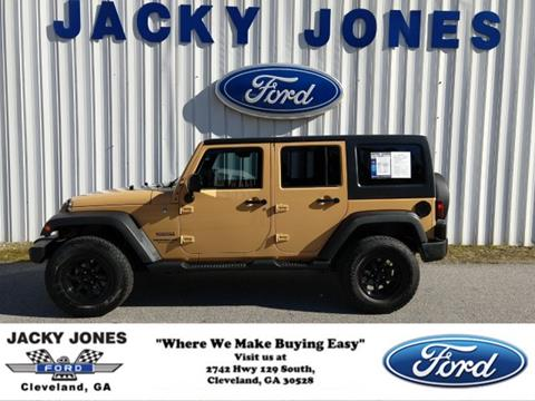 2013 Jeep Wrangler Unlimited for sale in Cleveland, GA