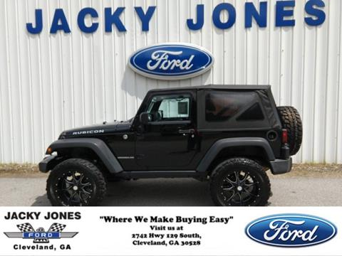 2012 Jeep Wrangler for sale in Cleveland, GA