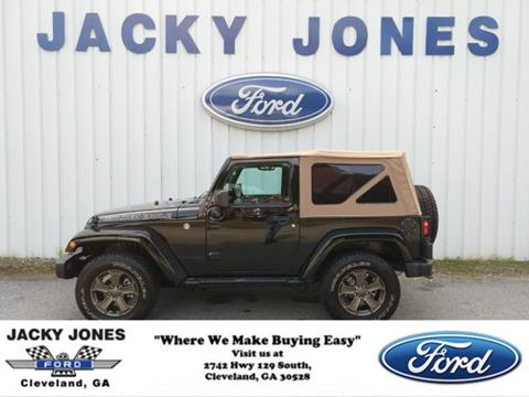 2018 Jeep Wrangler for sale in Cleveland, GA