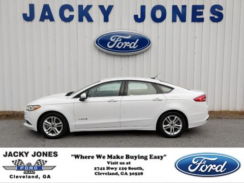 2018 Ford Fusion Hybrid for sale in Cleveland, GA