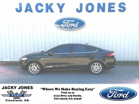 2013 Ford Fusion for sale in Cleveland, GA