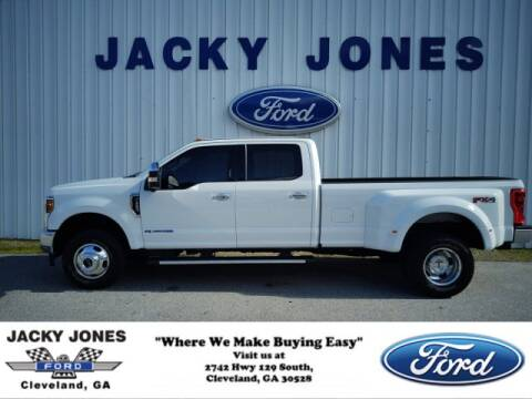 2019 Ford F-350 Super Duty Lariat for sale at Jacky Jones Ford in Cleveland GA