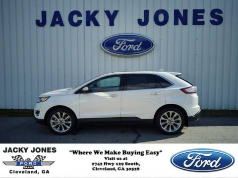 2017 Ford Edge Titanium for sale at Jacky Jones Ford in Cleveland GA