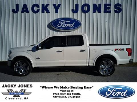 2018 Ford F-150 King Ranch for sale at Jacky Jones Ford in Cleveland GA
