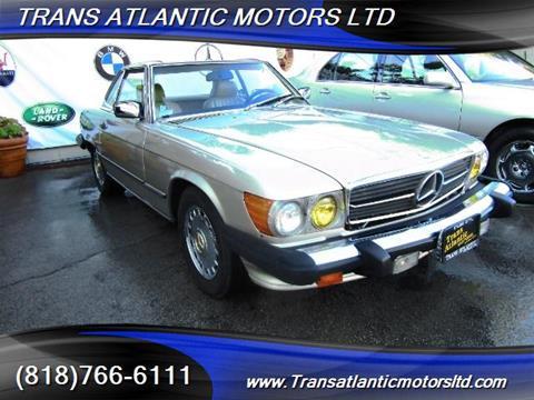 1988 Mercedes-Benz 560-Class for sale in Studio City CA