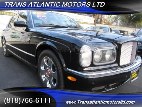 2000 Bentley Arnage for sale in Studio City CA